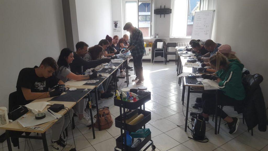 La nostra aula per la pratica